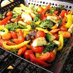 Veggies on the grill...