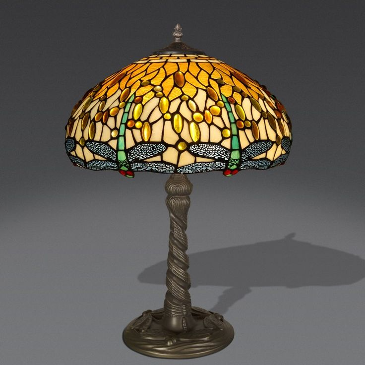 122 best lampade da tavolo tiffany images on pinterest stained glass lamps lamps and stained - Amazon lampade da tavolo ...