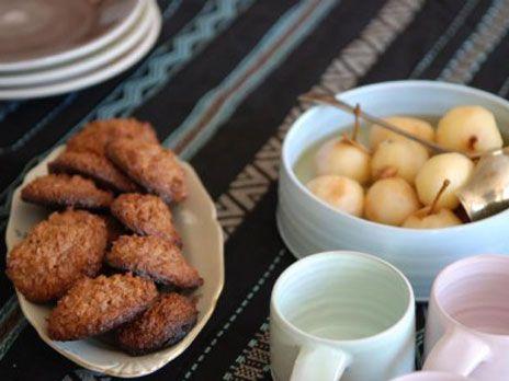 Kokostoppar med choklad | Recept från Köket.se