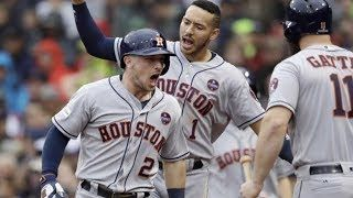 Houston Astros vs Boston Red Sox Highlights / Game 4 / MLB Playoffs