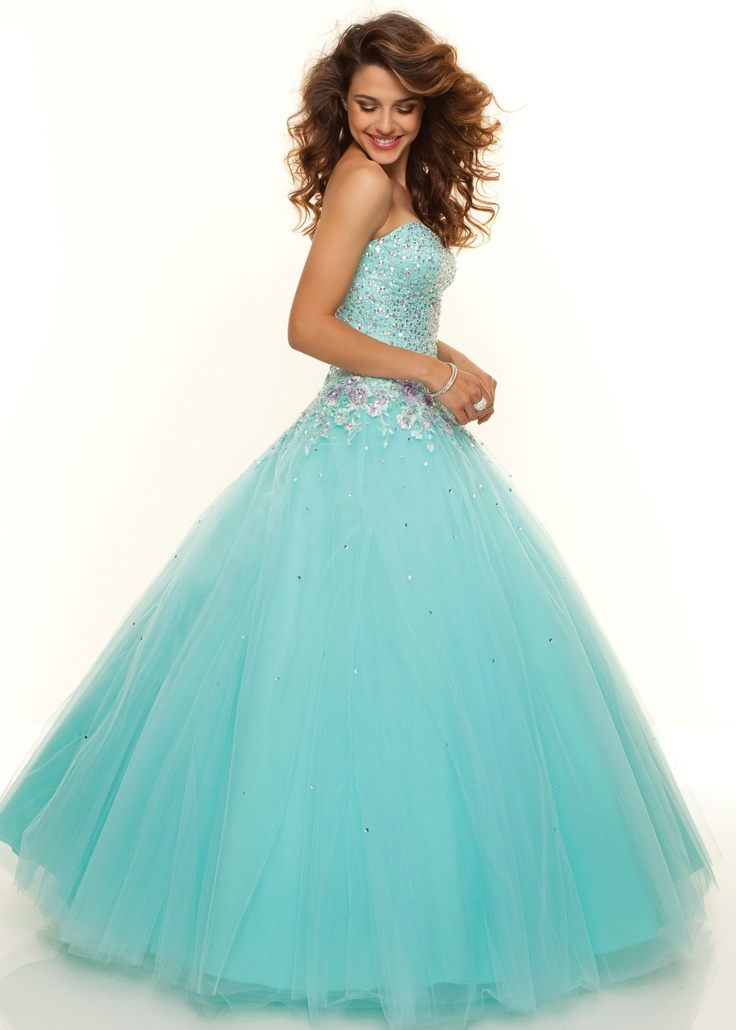 Paparazzi by mori lee 93093 aqua ball gown prom for How much do mori lee wedding dresses cost