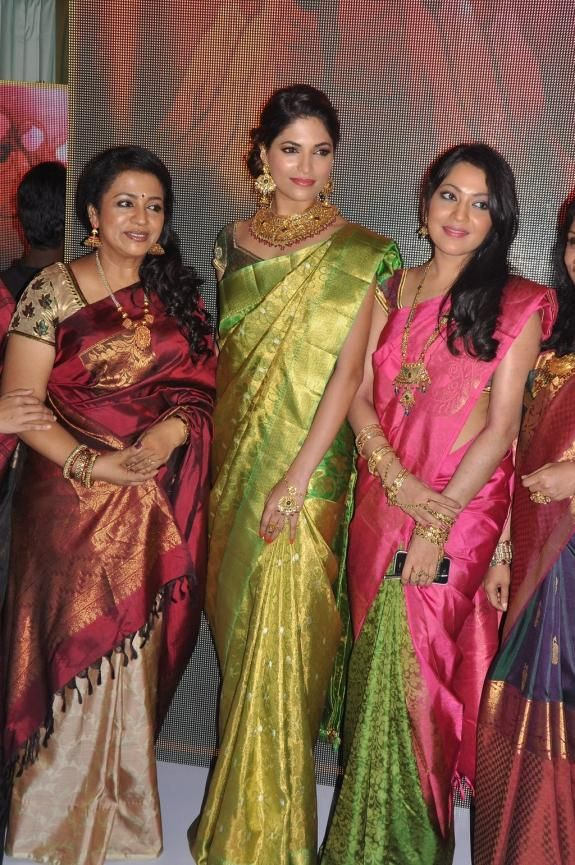 Poornima, Parvathy Omanakuttan and VJ Ramya