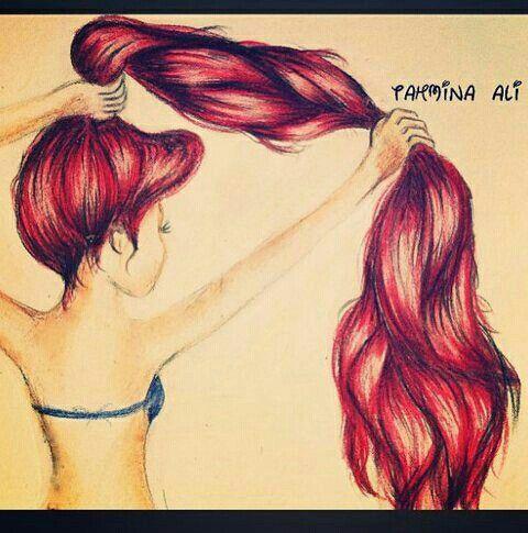 I love long red hair!!!!!
