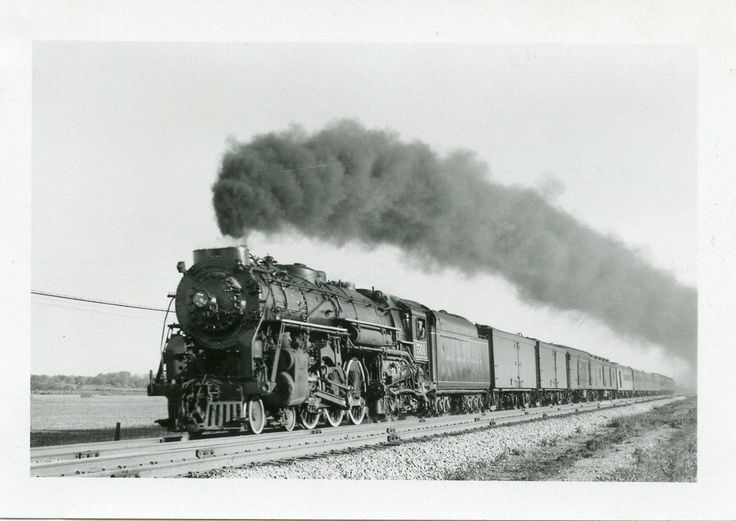 Image result for toronto hamilton & buffalo 2-8-4 steam locomotive