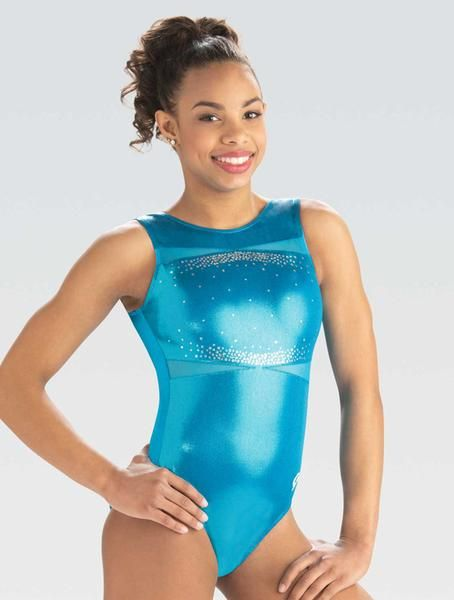 84d7a3923 Turquoise Shimmer Leotard – GK Elite Sportswear