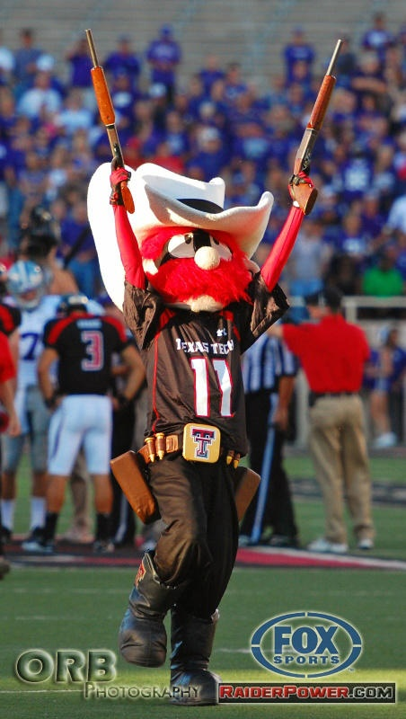 Raider Red, Texas Tech... Wreck 'Em!  R.S.