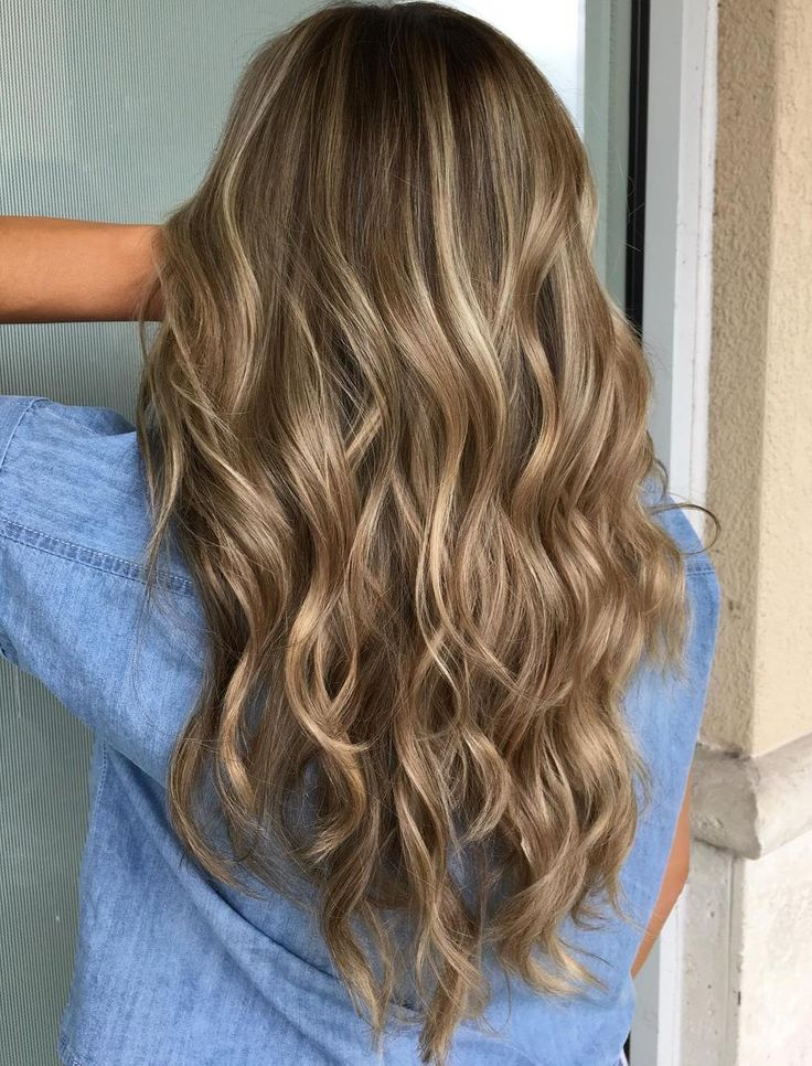 Brown+Hair+With+Beige+And+Platinum+Highlights