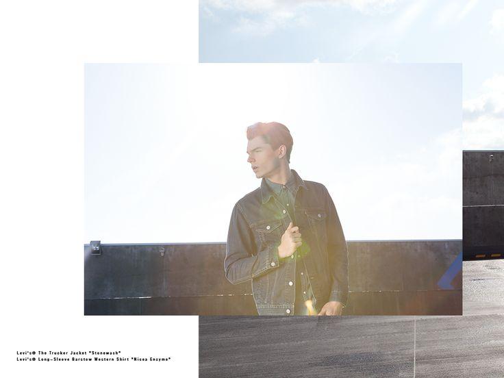 #levis #classics #liveinlevis #photosession #photo #lookbook #denim #men #mencollection #western #shirt #jacket #trucker #501 #jeans #501ct #levisstrauss #icons #levisicons #logo #graphic #batwing #shirt #ss15 #springsummer15 #basic #online #onlinestore #jeanstotallook
