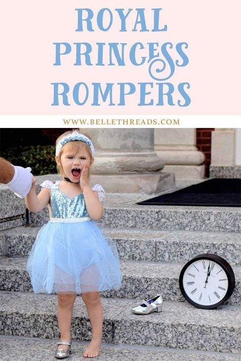 The sweetest royal princess blue and white tutu sparkle romper / handmade by Belle Threads, it's a one of a kind heirloom piece for little girls / princess halloween costumes for girls / cinderella inspired dress / cinderella inspired costume