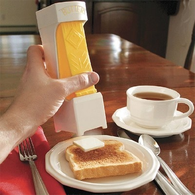 One Click Butter Cutter......hmmm i'd be so happy to have one :)