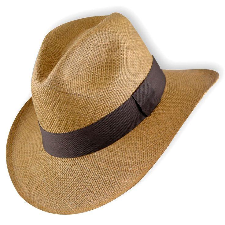 sombrero panamá de ecuador jipijapa para hombre
