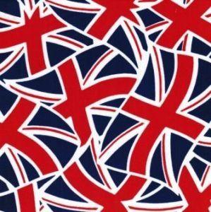 Union Jack Fabric FM3236