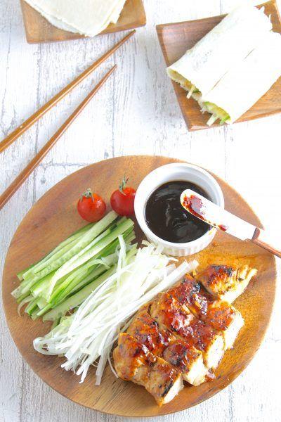 フライパン1つで簡単♡「鶏むね肉 de 北京ダック風」【おもてなしレシピ#9】