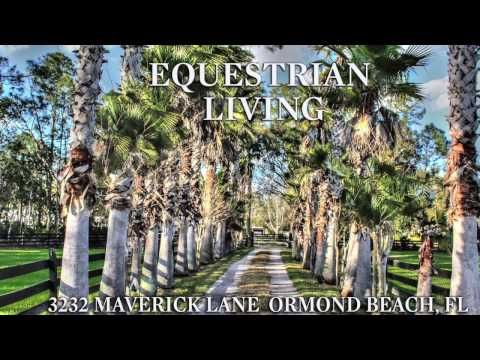 Horse Properties Florida - Equestrian Estate - see this amazing property YouTube