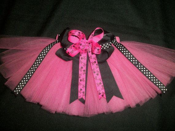 Pink pirate tutu custom made any size Newborn4t by CatyRoseBows, $24.00...loveee this