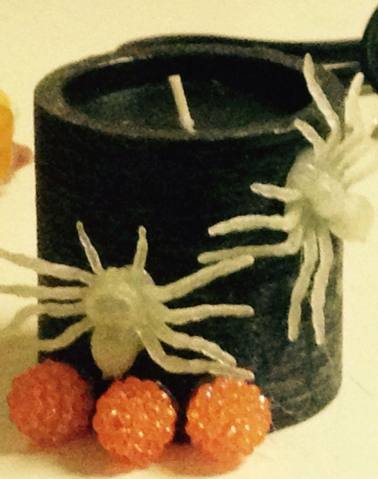 DIY : Halloween candle
