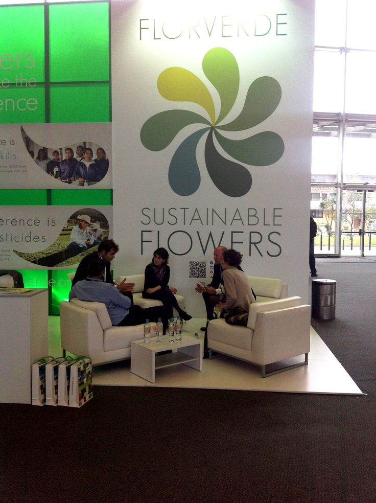 In Proflora, Florverde Sustainable Flowers wants to make the difference and show their commitment to climate change effects.