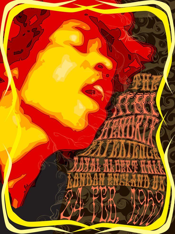 jimi hendrix 1969 concert posters pinterest jimi