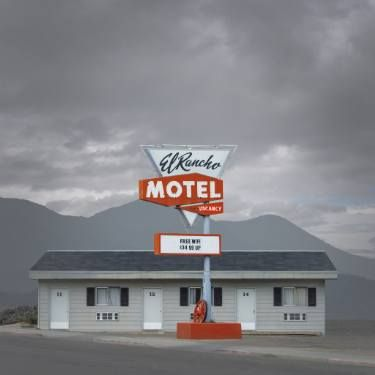 "Saatchi Art Artist Ed Freeman; Photography, ""El Rancho Motel (vacancy) - Ely, Nevada."" #art"