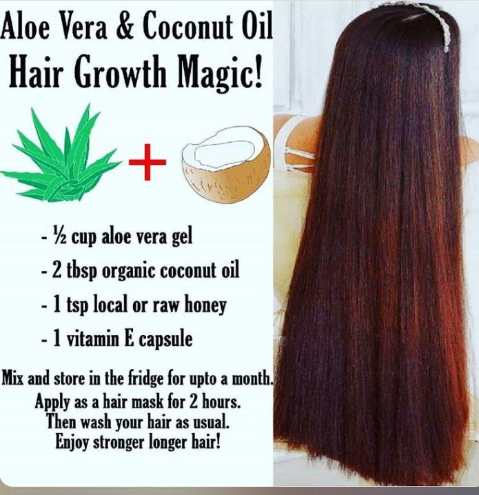 Aloe Vera Hair Growth Mask Grow Natural Hair Faster How To Grow Natural Hair Healthy Hair
