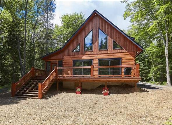 The Aspen VIII Log Home Floor Plan by True North Log Homes