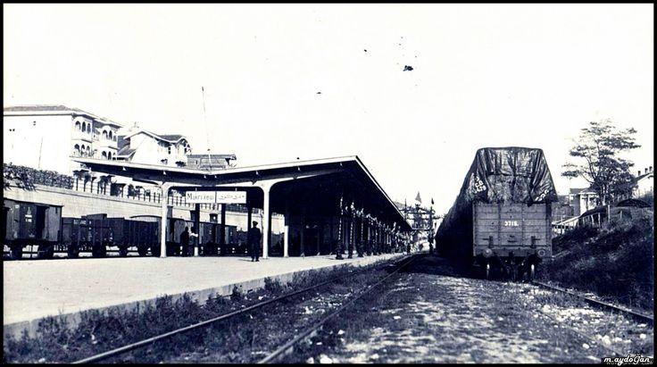 (İstanbul-Bakırköy Tren İstasyonu-1920)