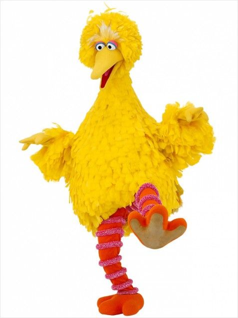 """Big Bird --- is a protagonist of the children's television show Sesame Street. Big Bird, like many of the other Sesame Street characters, is a Muppet character[citation needed]. He is sometimes referred to simply as """"Bird"""" by his friends."""