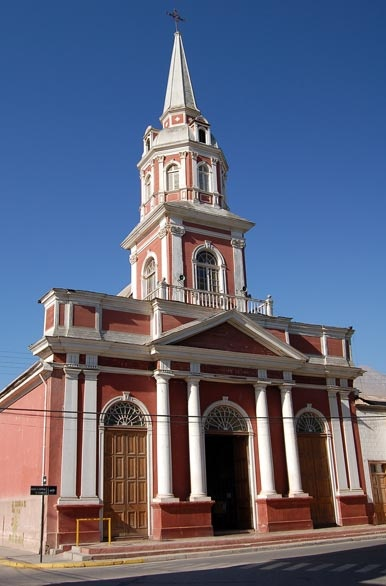 Church in Vicuña, Chile