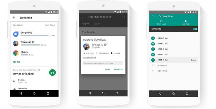 Google #FamilyLink available in bêta mode. / Google Family link est disponible en mode bêta au Canada