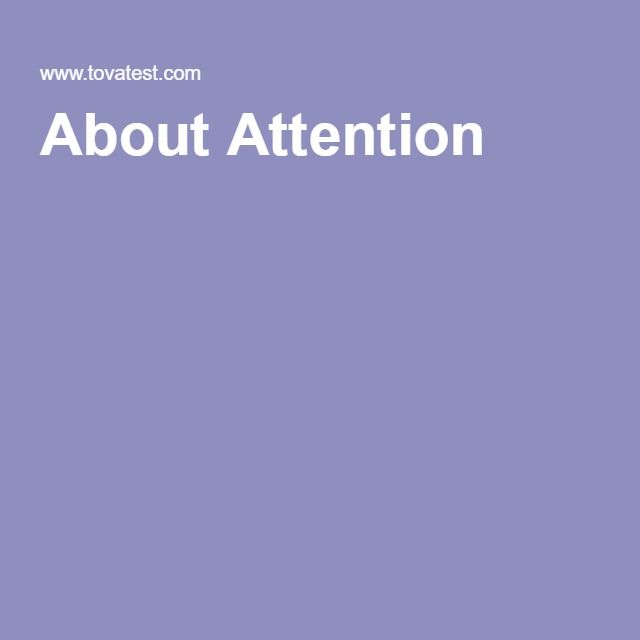 About Attention