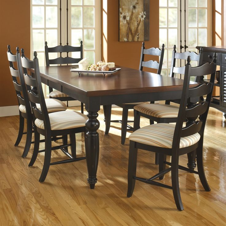 Custom Dining Customizable Rectangular Table Set By Canadel