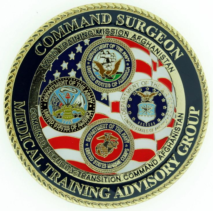 CS Command Surgeon Medical Training Advisoy Group NATO Military Challenge Coin | eBay