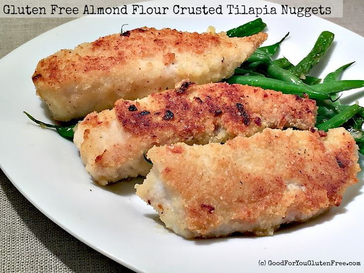 Almond Flour Crusted Tilapia Nuggets | In The Kitchen With Honeyville