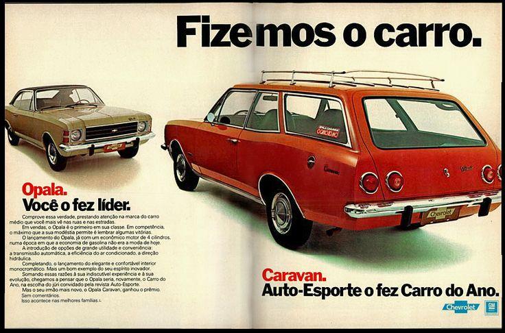 Anúncio Caravan - 1976