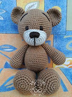Tobi Maci- Tobi Bear Amigurumi Crochet By Regi: 2017 Free Pattern