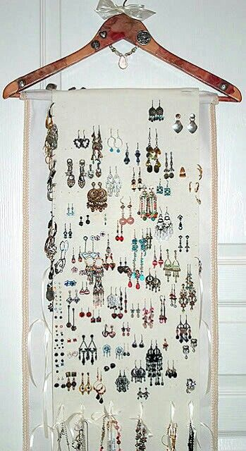 Jewelry display idea for craft booth