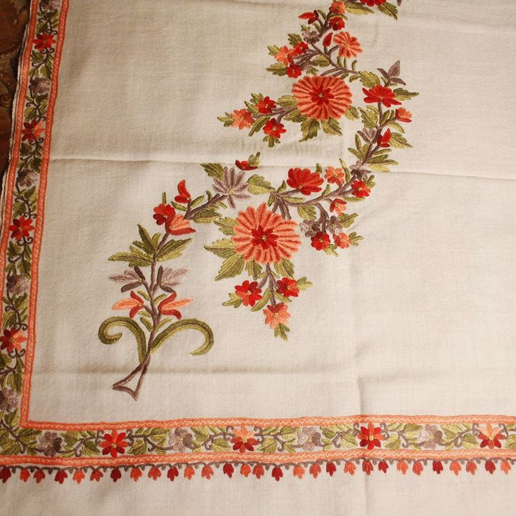 Best kashmiri embroidery images on pinterest black