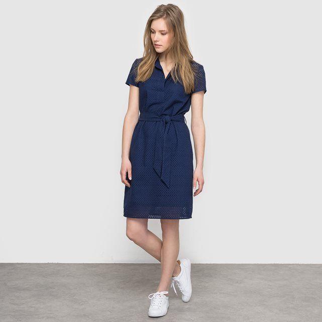 Image Prosta sukienka z angielskim haftem atelier R