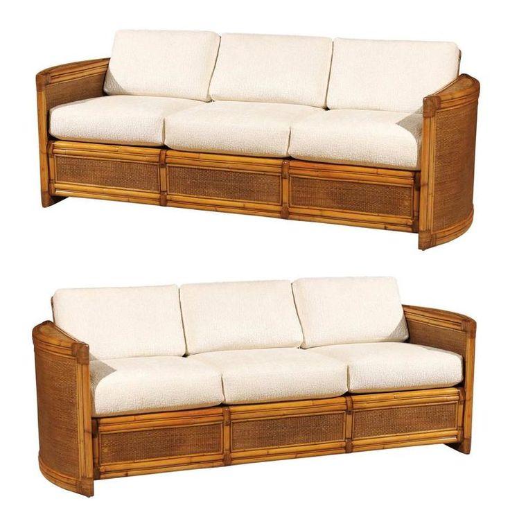 Best 25 rattan sofa ideas on pinterest danish sofa for Modern rattan sofa