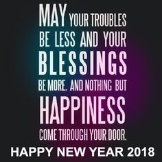 50+ Happy New Years 2018 Quotes & Sayings With Images In English