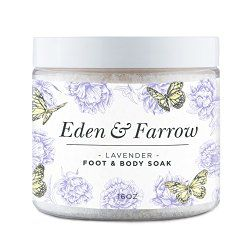 When your feet hurt, your body hurts. I love the calming effect of lavender & the detoxifying effect of epsom salts. #mamaG #footspa #feet #holidaygifts