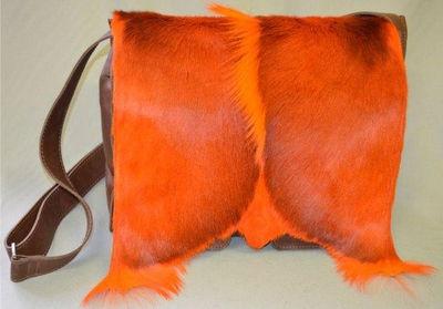 www.okamia.se - Two Pocket Satchel Orange
