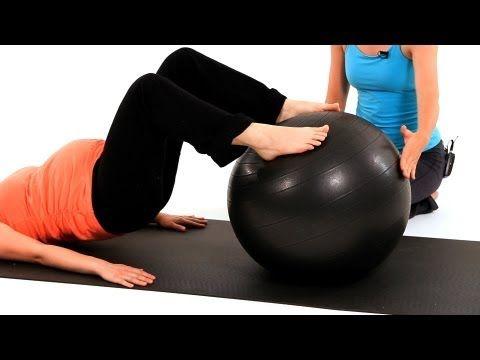 Prenatal Workouts with Exercise Balls   Pregnancy Exercises