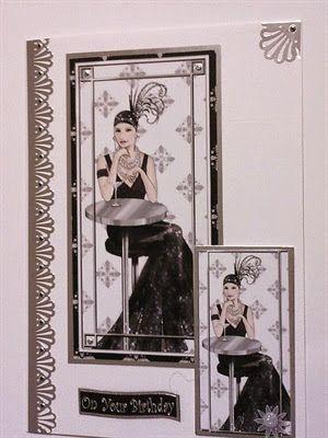 Debbi Moore Art Deco card by SoSpecial Cards