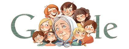 Doodleando, Los Logos de Google: 93 aniversario del nacimiento de Anne-Cath Vestly