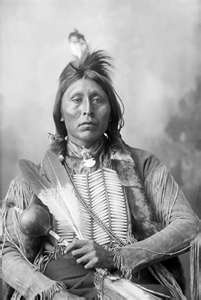 Two-Hatche a Kiowa Chief. The Kiowa (play /ˈkaɪ.ɵwə/) are a nation of American Indians and indigenous people of the Great Plains. They migrated from the northern plains to the southern plains in the late 17th century. In 1867, the Kiowa moved to a reservation in southwestern Oklahoma. Today, they are a federally recognized tribe, the Kiowa Tribe of Oklahoma, with 12,000 members.