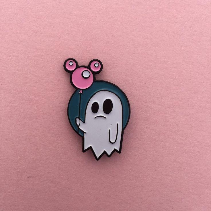 Spooky Ghost - Enamel Pin