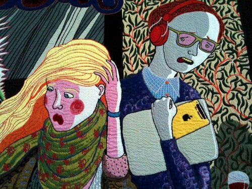 Grayson Perry tapestries (detail)