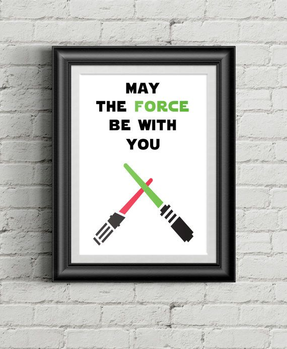 Star Wars Art for the Jedi in your life.