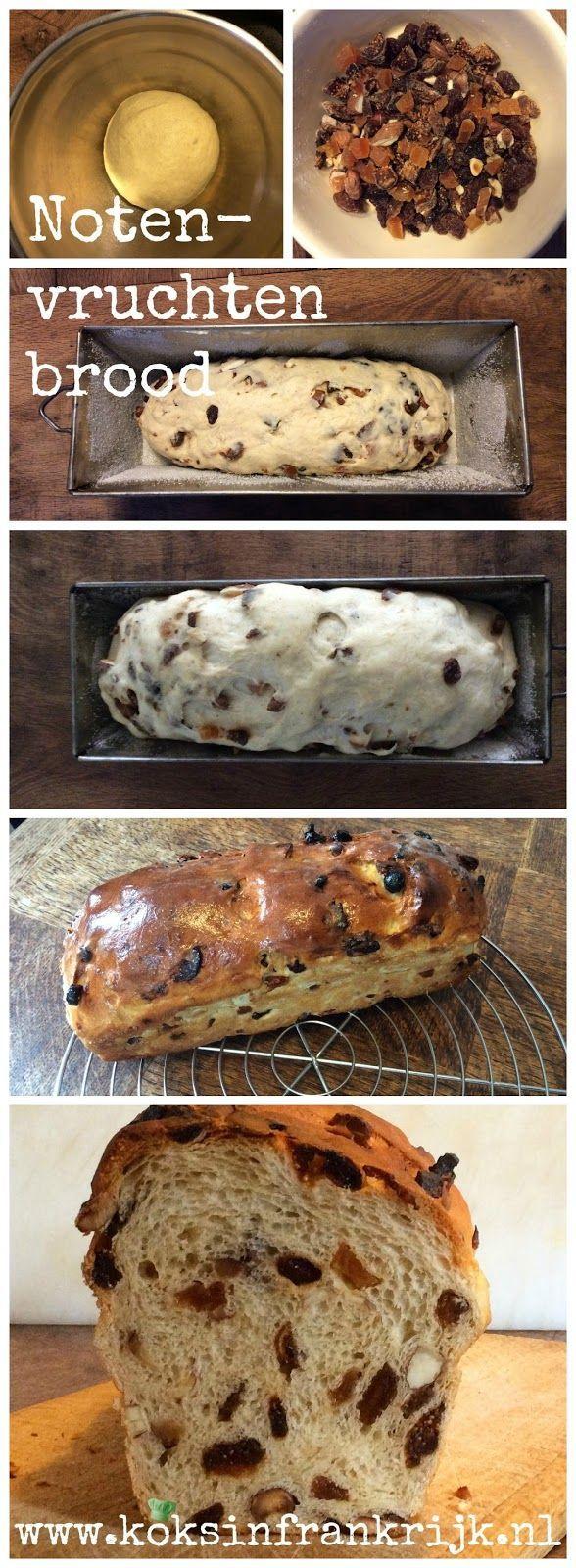 Brood bakken: noten-vruchtenbrood